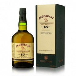 Redbreast 15 years old...