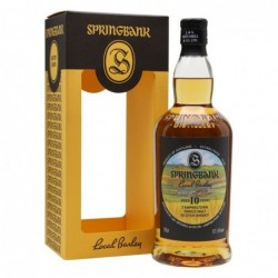 Springbank 10 years old...