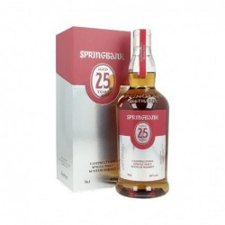 Springbank 25 years old...